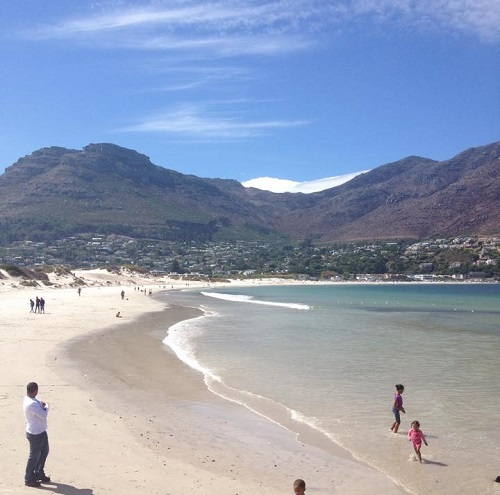 The beach at Hout Bay
