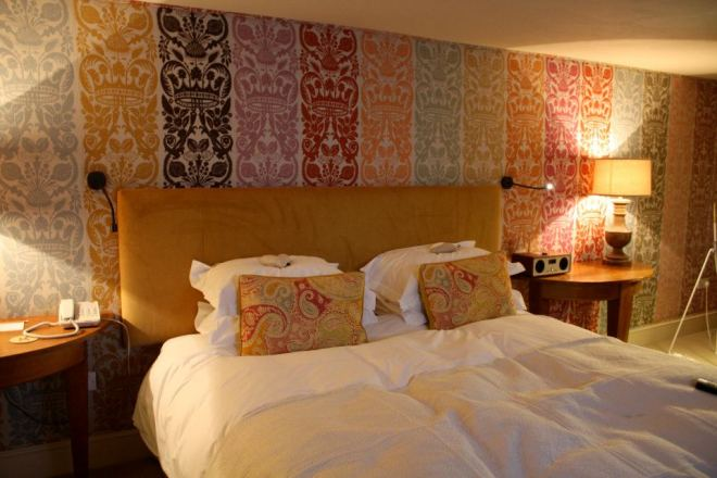 The beautiful Room 45 at The George in Rye