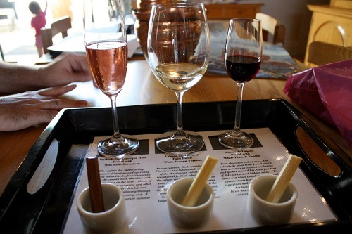 Chocolate and wine tasting at Laborie in Paarl