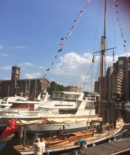 Boats at St Katherine's Dock