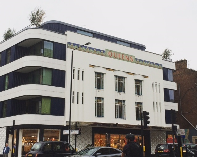A 1930's Art Deco former cinema in Bayswater, which are now apartments.