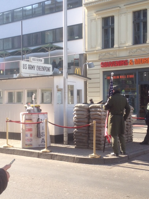 Checkpoint Charlie soldiers