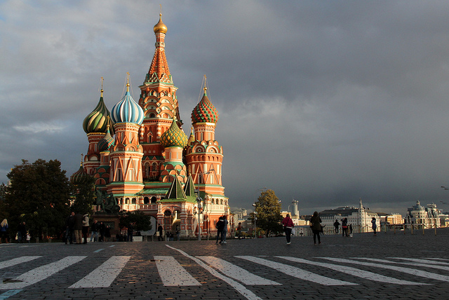 St Basil's Cathedral in Moscow's Red Square. Photo by Ana Paula Hirama.