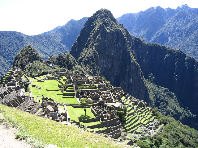 Machu Picchu in Peru. Photo by Robert Ennals.