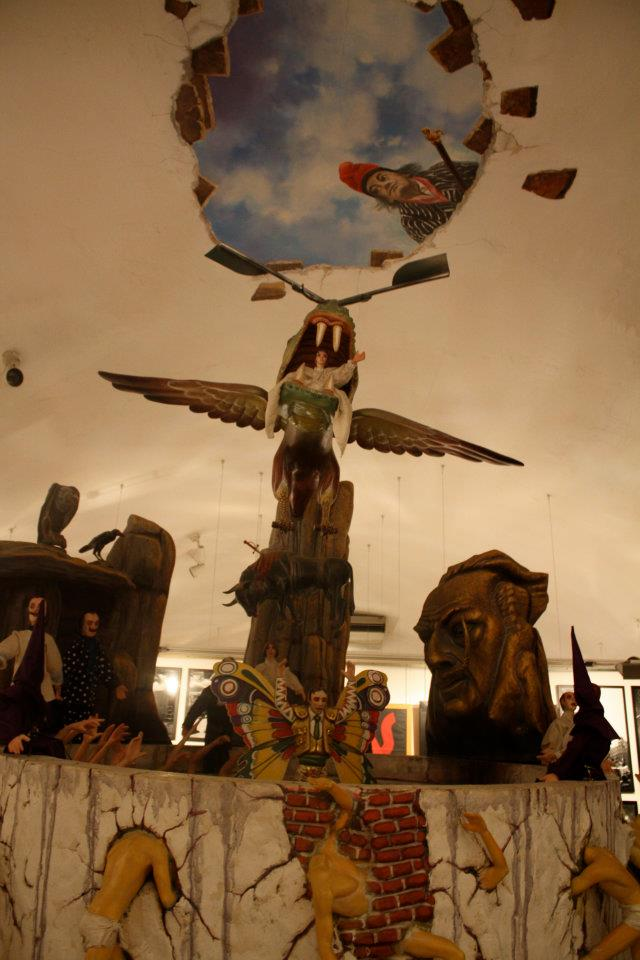 One of the works on display in the Dali exhibition