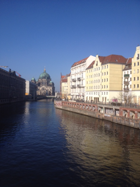 River Spree and the Museum Island in Mitte