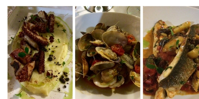 The fabulous food from Vineria Modi