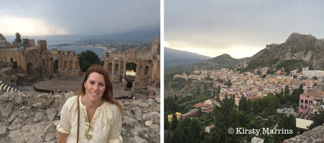 Teatro Greco Taormina - built in the 7th century BC