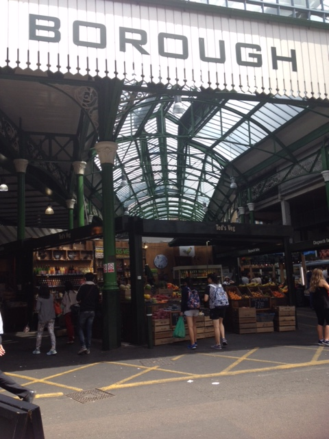 Borough Market - London's oldest fruit and vegetable market.