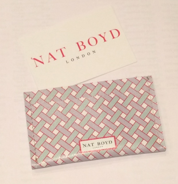Nat Boyd wallet/travel card holder