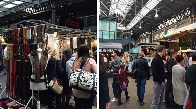 Old Spitalfields Market stalls