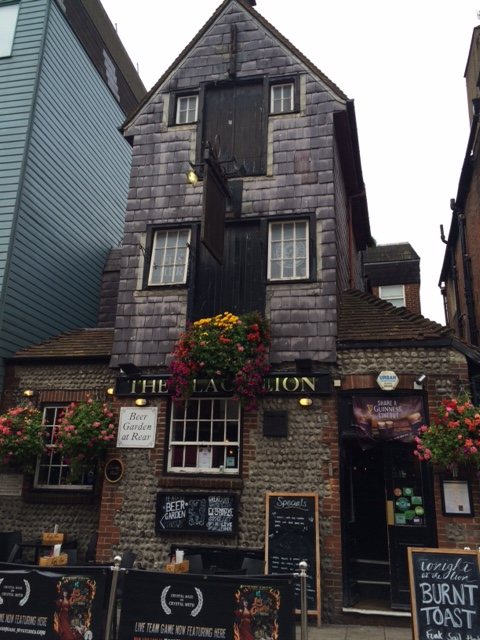 A charcterful pub in The Lanes.