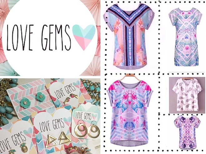 Love Gems clothing and jewellery